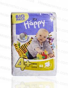 Дитячі підгузки Happy Big Pack № 4 плюс
